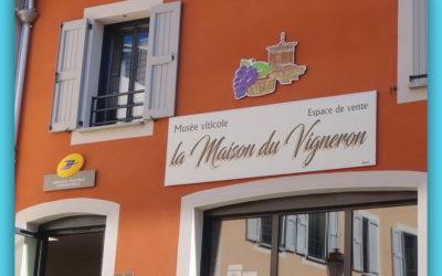 Ouverture Estivale de la maison du Vigneron