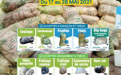 Collecte des déchets agricoles (17-28 Mai 2021)