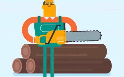 Mise à disposition de bois à la découpe