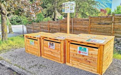 NOUVEAU ! Un site de compostage partagé place de l'Hermitane