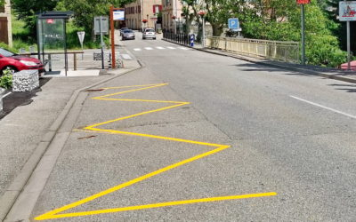 Pour améliorer la sécurité, nous rénovons le traçage routier !