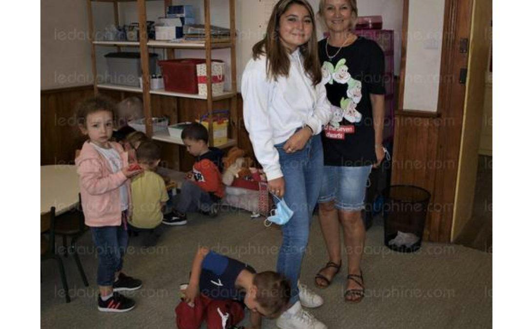 Pauline Sarrazin intègre le regroupement pédagogique